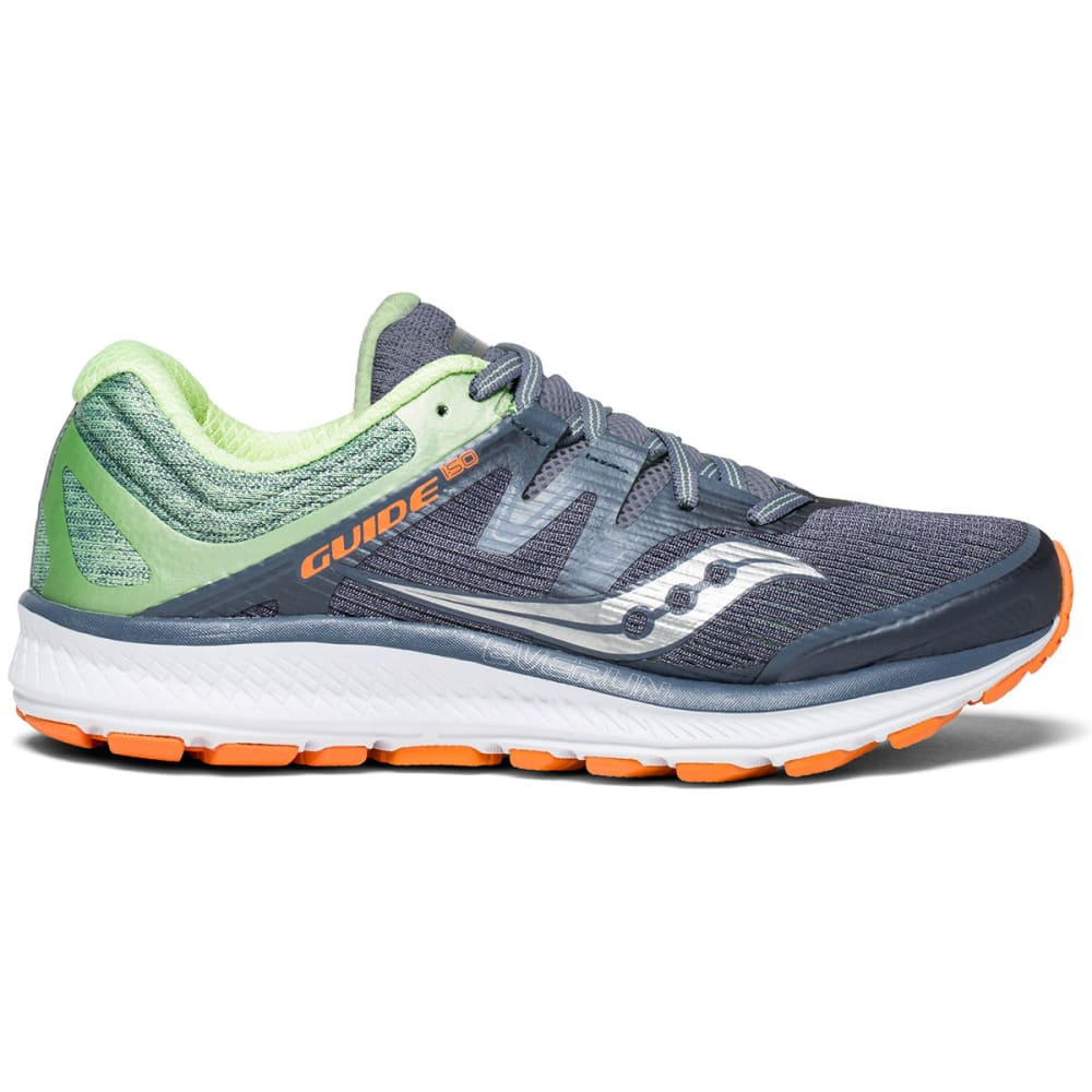 Saucony Women's Guide Iso Running Shoes - Black, 6