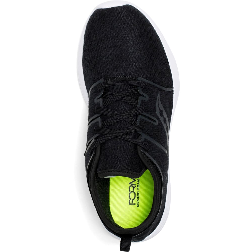 SAUCONY Women's Eros Lace Running Shoes - BLACK