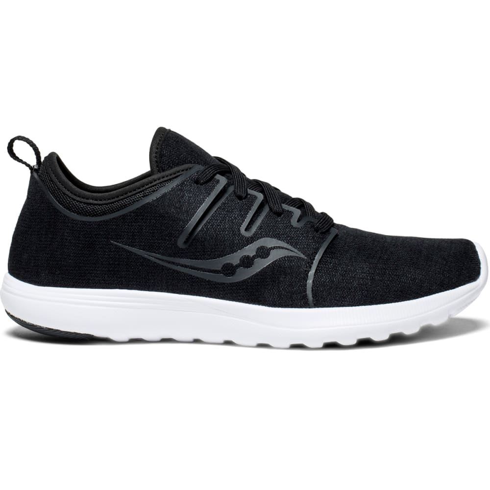 SAUCONY Women's Eros Lace Running Shoes - BLACK