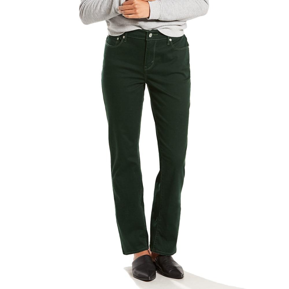 LEVI'S Women's 505 Straight Leg Jeans - 0158-RICH SCARAB