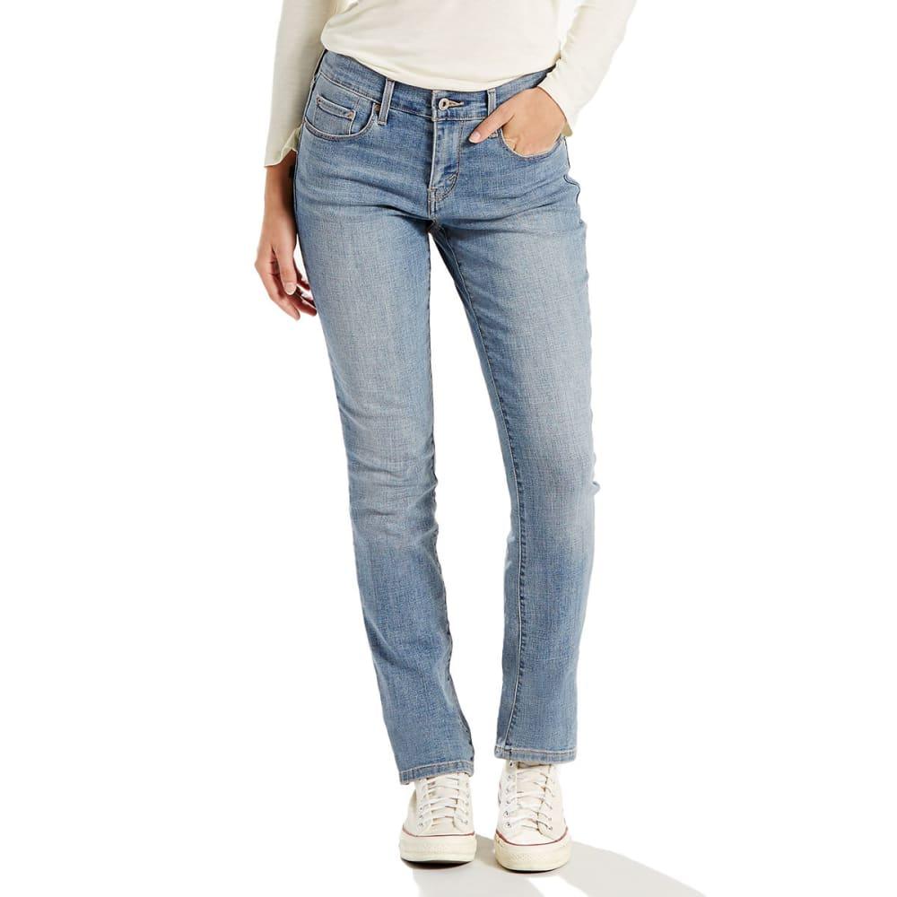 LEVI'S Women's 505 Straight Leg Jeans - 0147-AMBIANCE