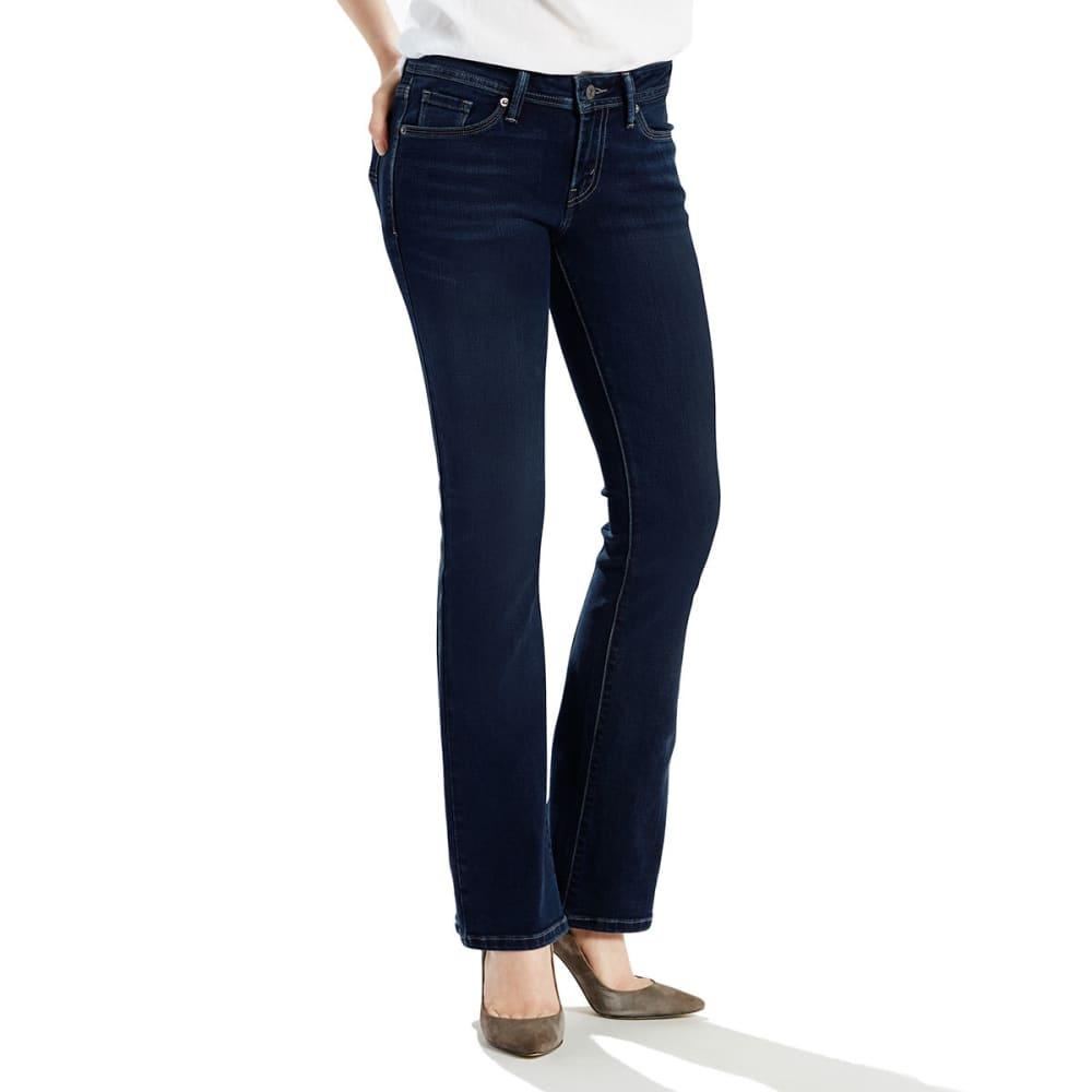LEVI'S Women's 529 Curvy Bootcut Jeans - 0008-ABBOT INDIGO