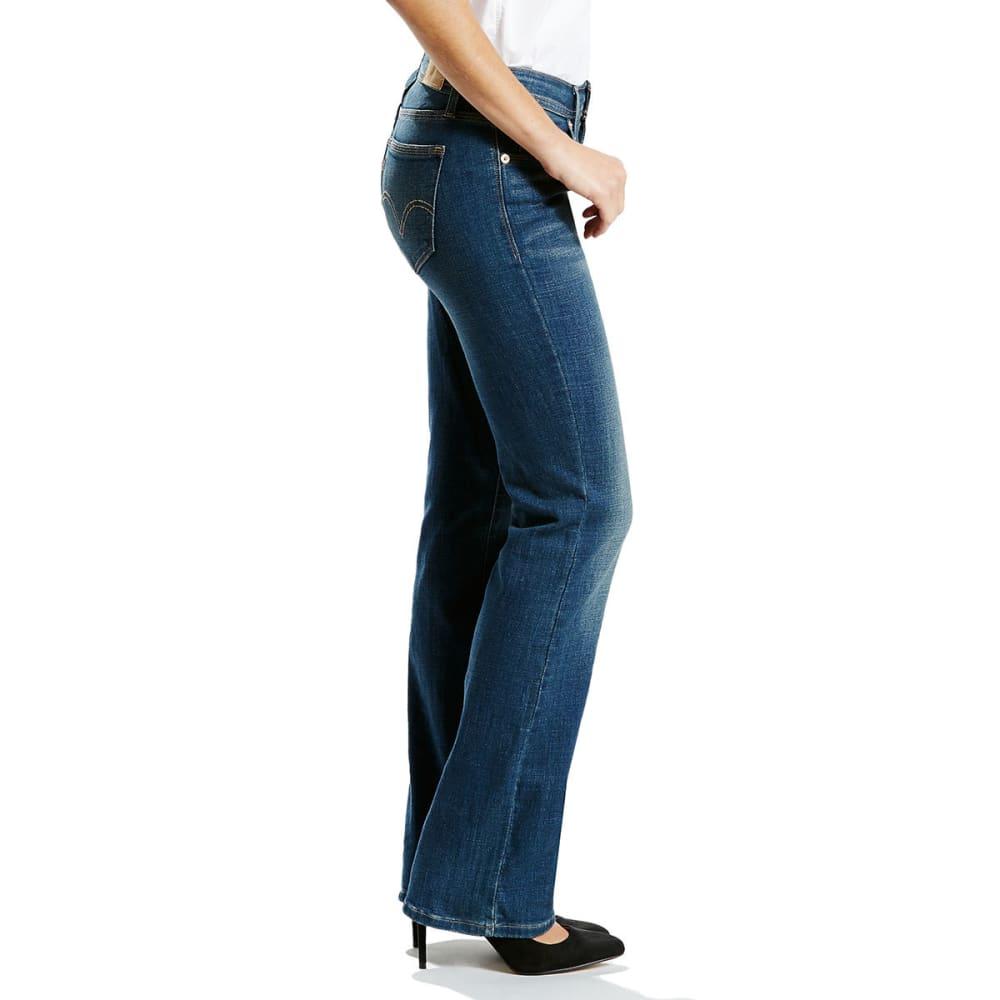 LEVI'S Women's 529 Curvy Bootcut Jeans - 0010-OUTPOST