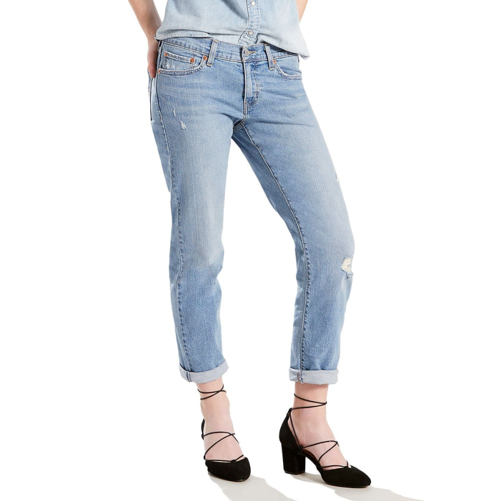 LEVI'S Women's Boyfriend Jeans - 0067-GIMME A BREAK
