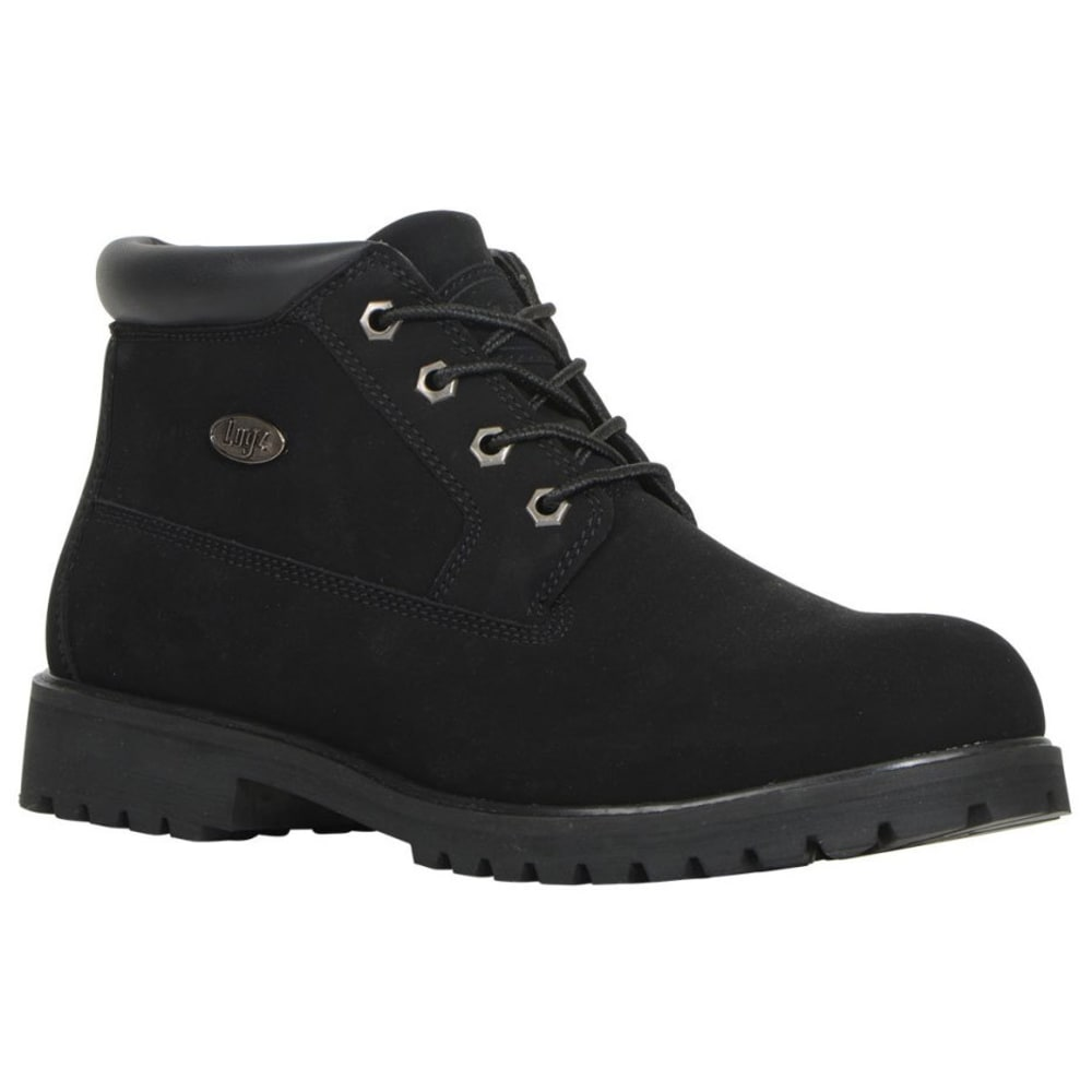 LUGZ Men's Huddle Low Boots, Black - BLACK