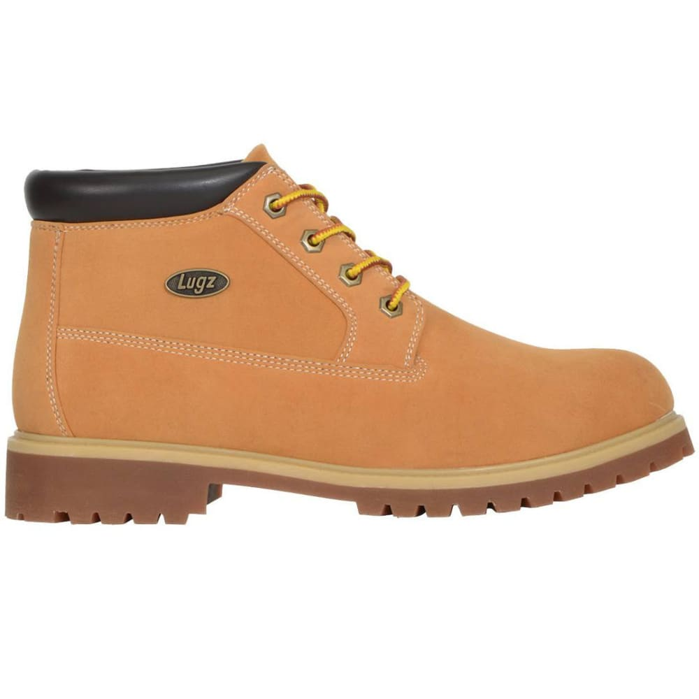 LUGZ Men's Huddle Low Boots, Golden Wheat - WHEAT