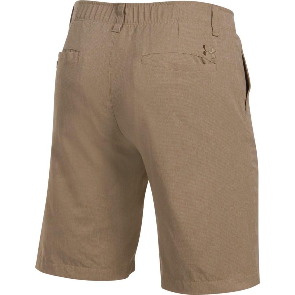 UNDER ARMOUR Men's Match Play Vented Golf Shorts - KHAKI-254