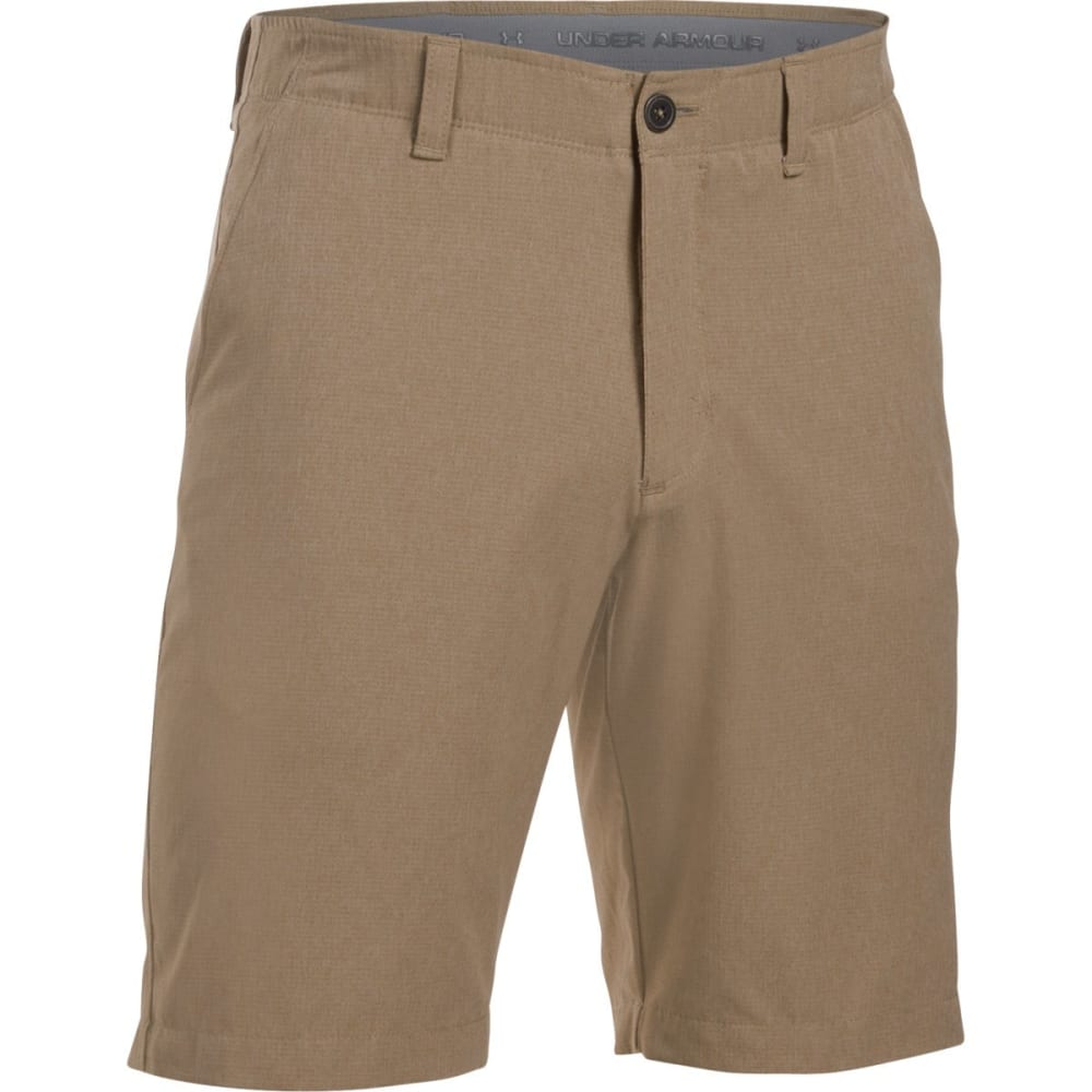 UNDER ARMOUR Men's Match Play Vented Golf Shorts - KHAKI-254
