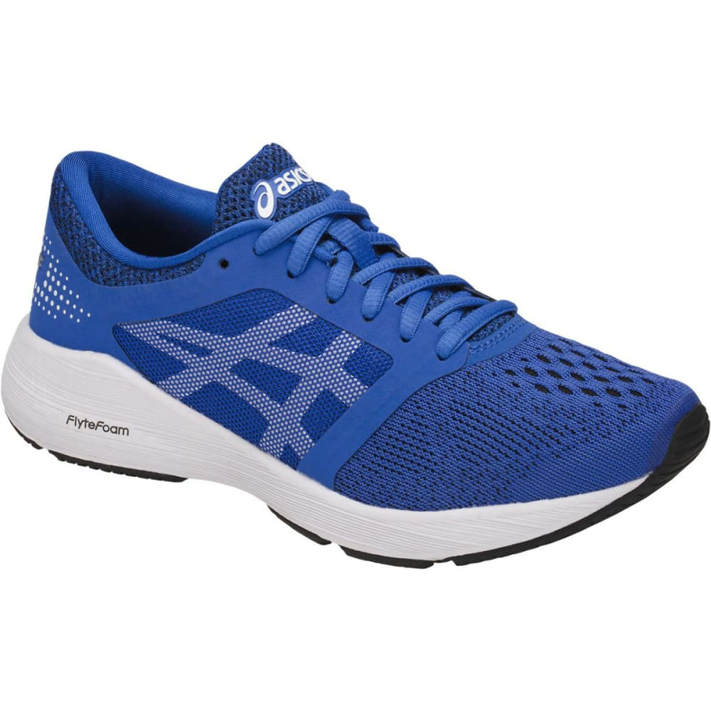 Asics Boys' Grade School Roadhawk Ff Running Shoes - Blue, 4