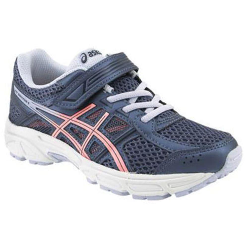 ASICS Little Girls' Preschool PRE-Contend 4 Running Shoes - PEACOAT-401