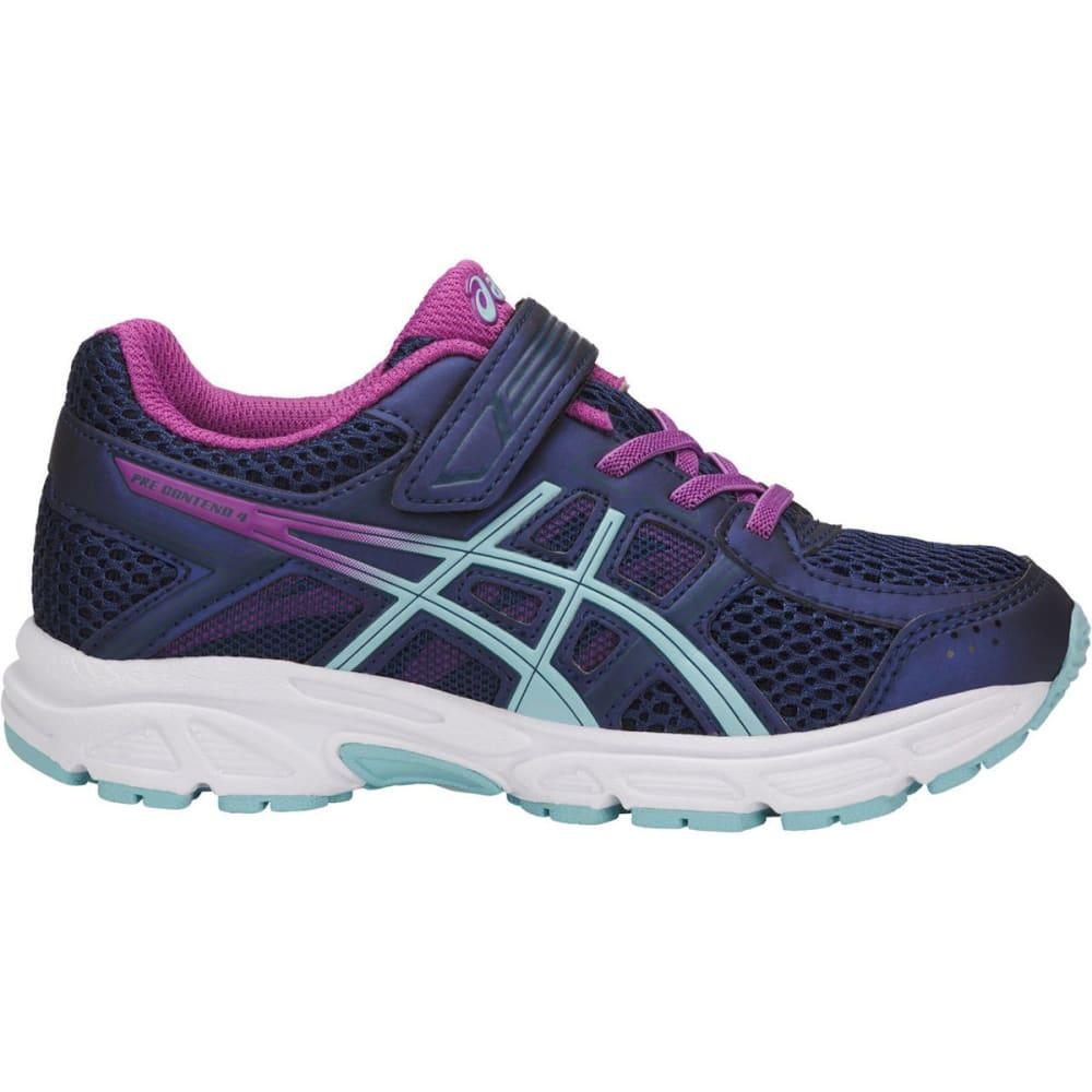 ASICS Little Girls' Preschool PRE-Contend 4 Running Shoes - BLUE