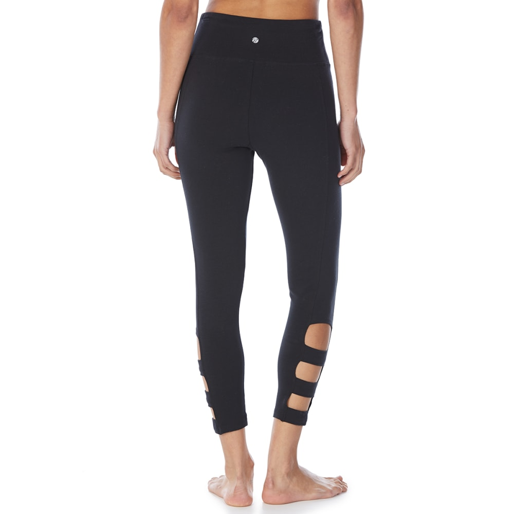 BALLY Women's Stella Cutout Mid-Calf Leggings - BLACK-001