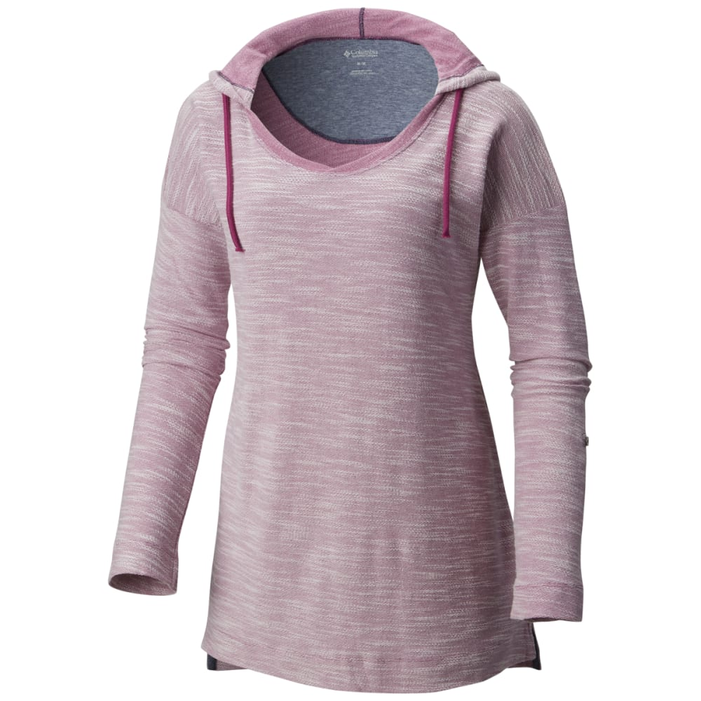 Columbia Women's Coastal Escape Hoodie - Purple, S