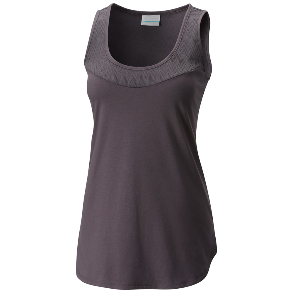 COLUMBIA Women's Crestview Tank Top - 011-SHARK
