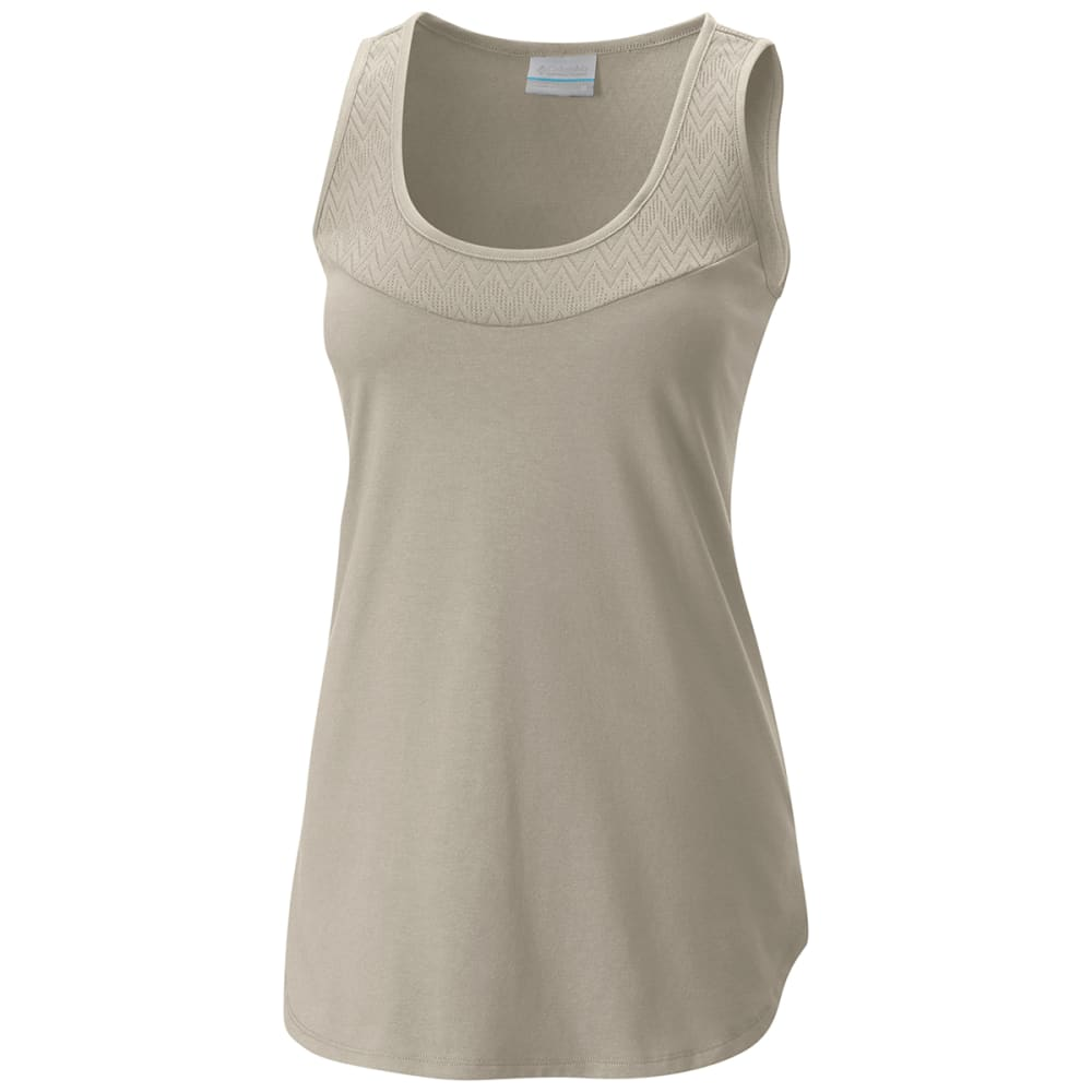 COLUMBIA Women's Crestview Tank Top - 022-STONE