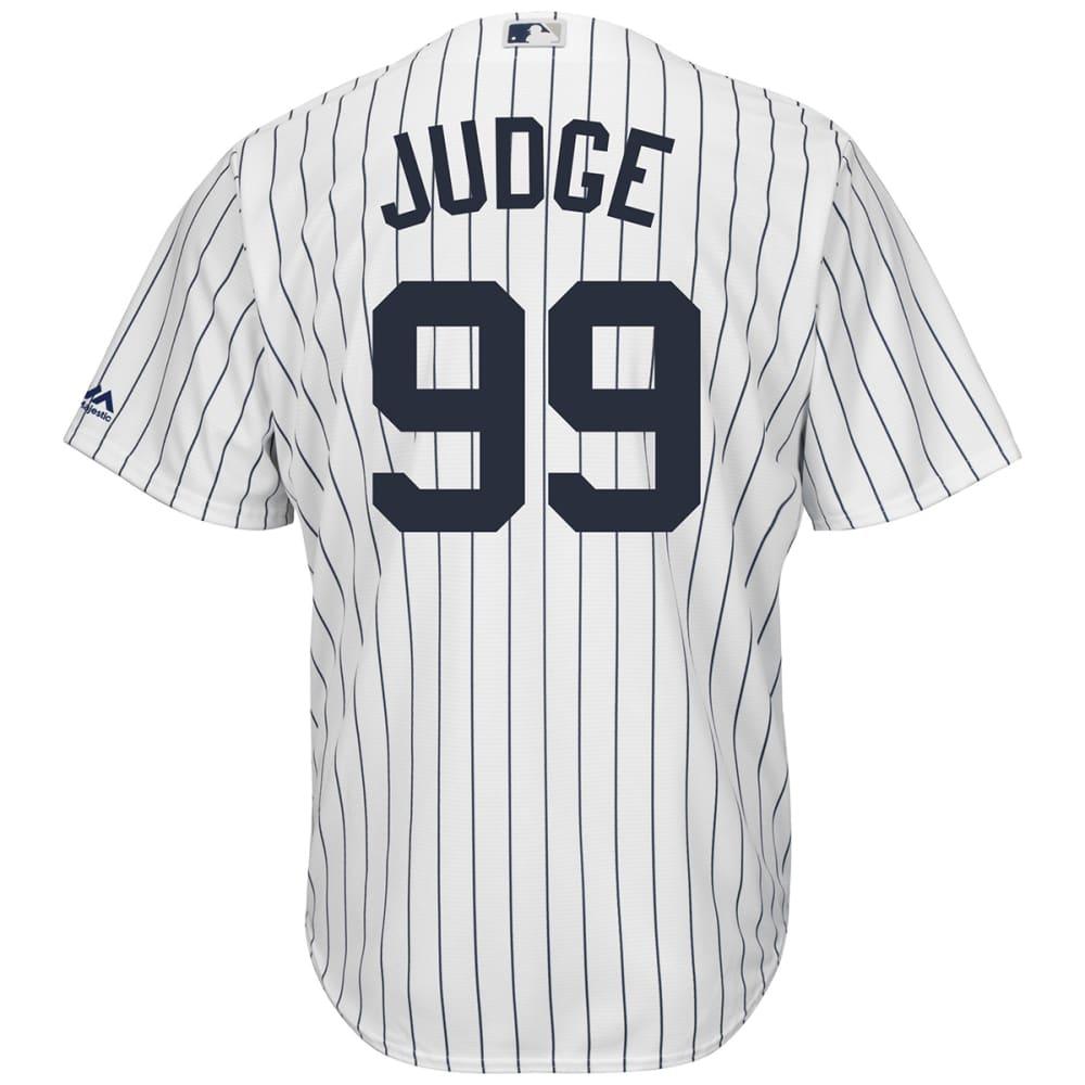 NEW YORK YANKEES Men's Aaron Judge #99 Cool Base Jersey - WHITE