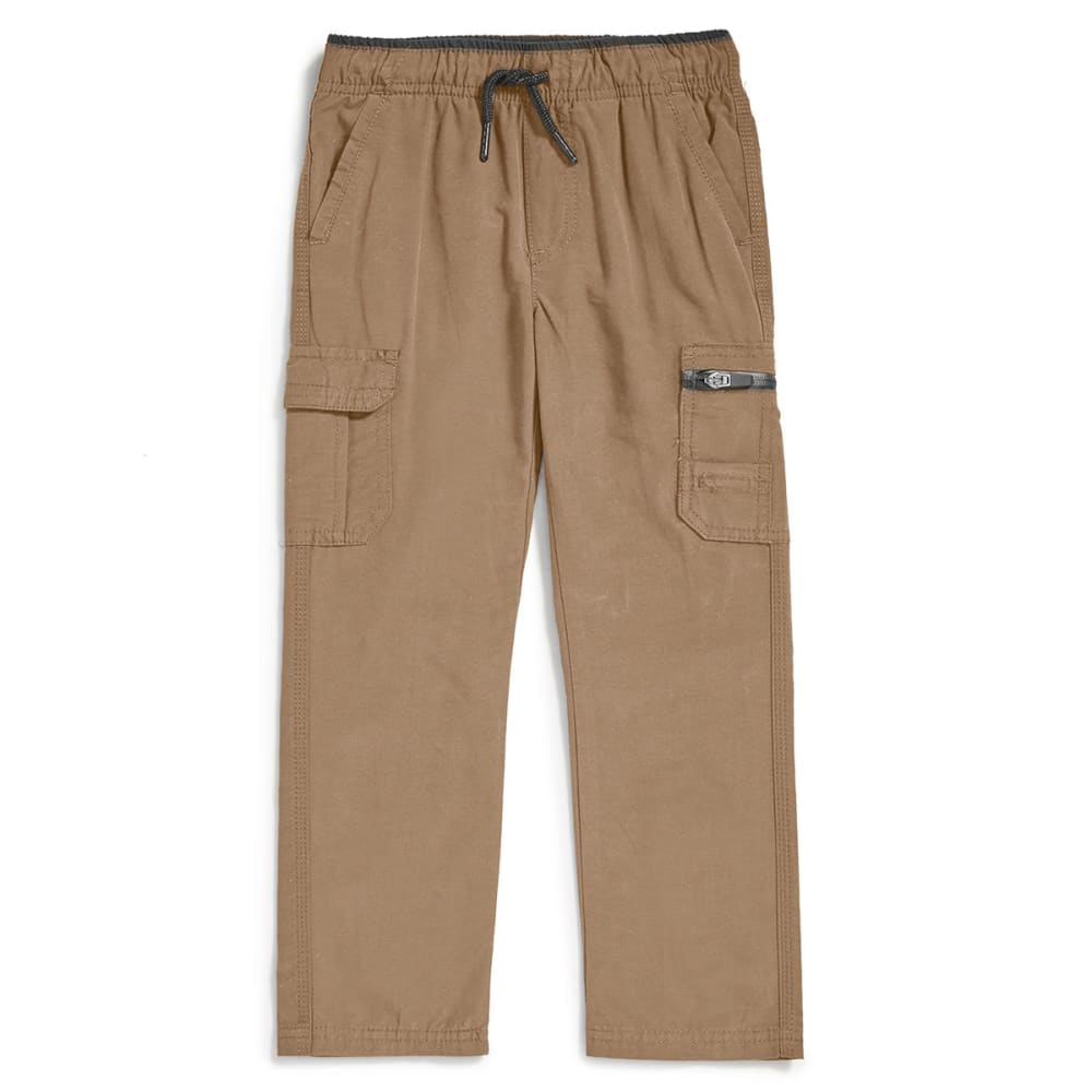 OCEAN CURRENT Boys' Athlete Cargo Pants - KHAKI