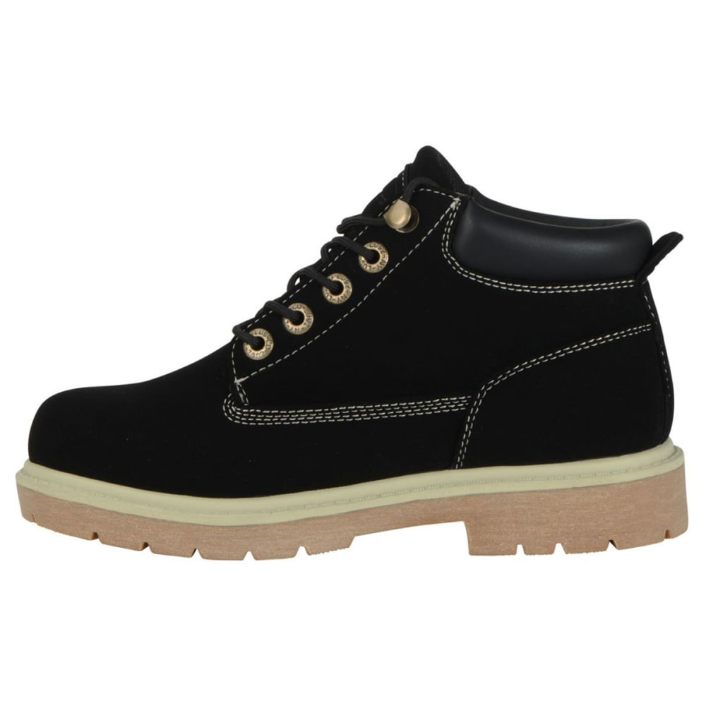 LUGZ Women's Drifter LX Mid Boots, Black/Cream/Gum - BLACK