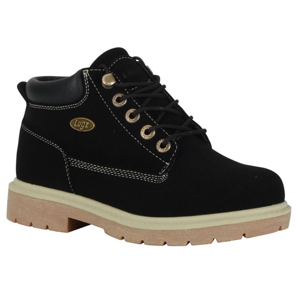 LUGZ Women's Drifter LX Mid Boots, Black/Cream/Gum - BLACK