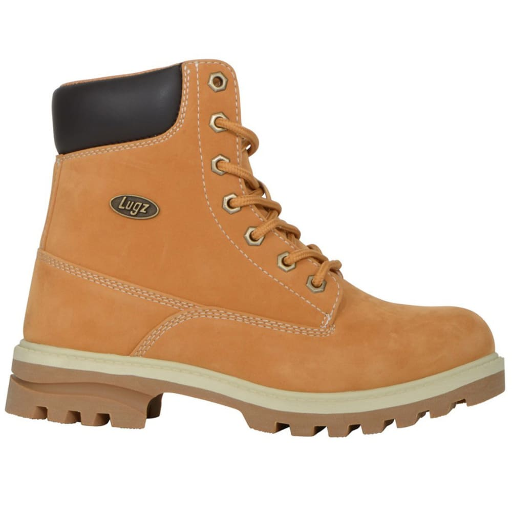 LUGZ Women's Empire Hi WR Work Boots, Wheat/Cream/Gum - GOLDEN WHEAT