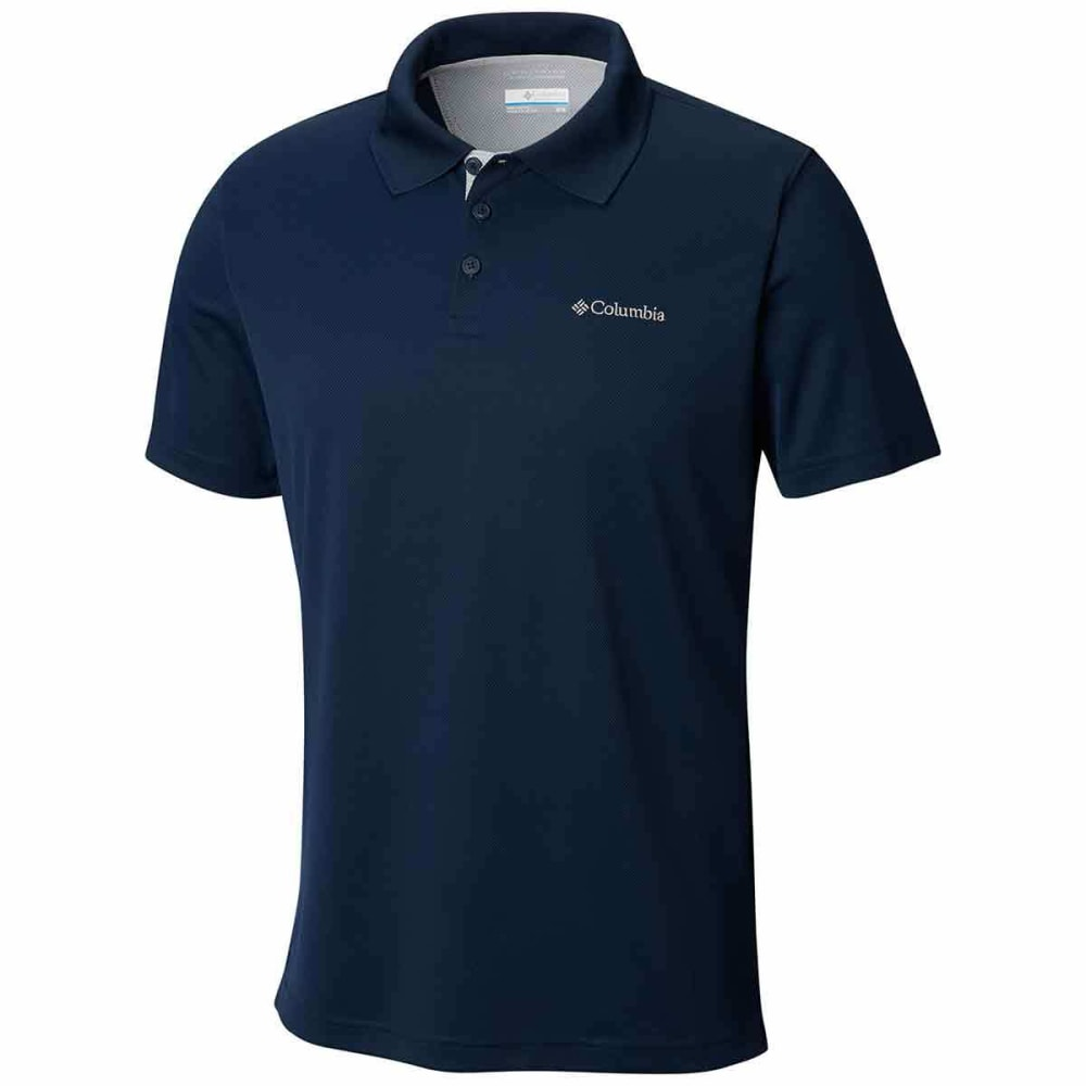 Columbia Men's Utilizer Polo Shirt - Blue, M