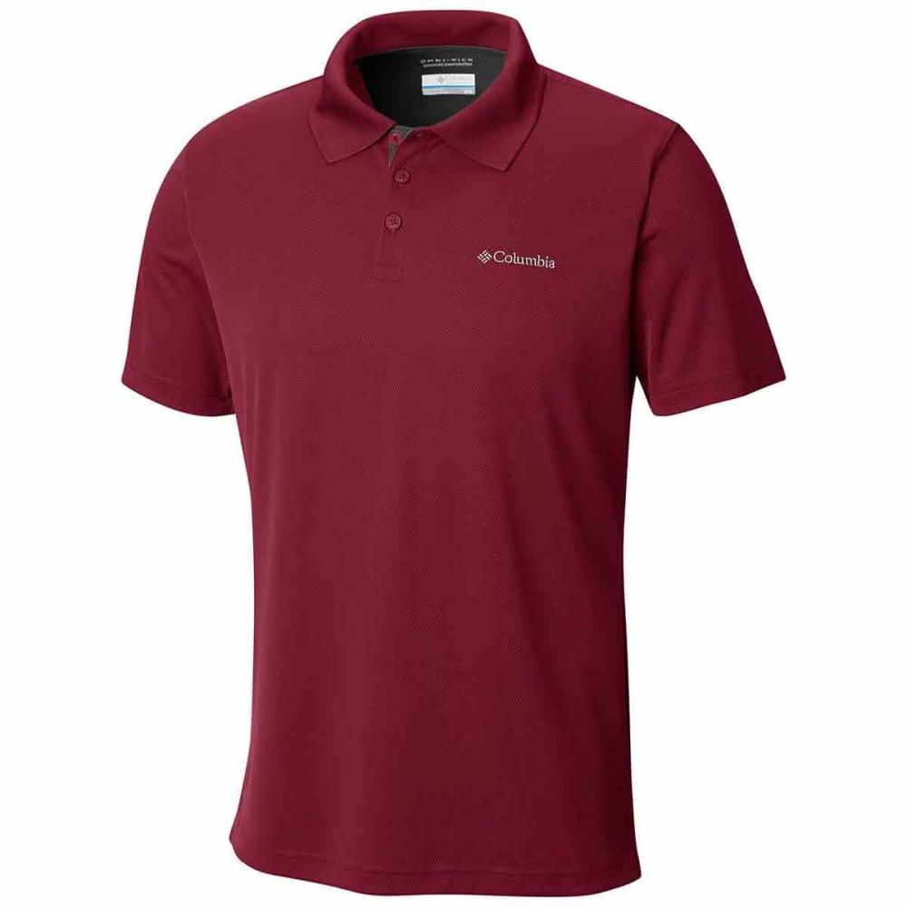 Columbia Men's Utilizer Polo Shirt - Red, L