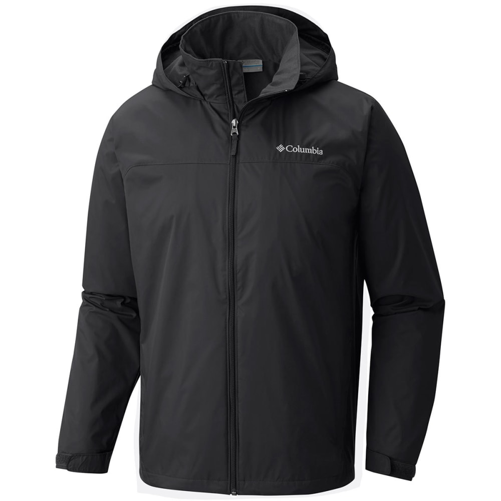 Columbia Men's Glennaker Lake(TM) Lined Rain Jacket - Black, M