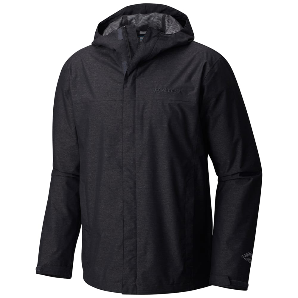 Columbia Men's Diablo Creek(TM) Rain Shell - Black, S