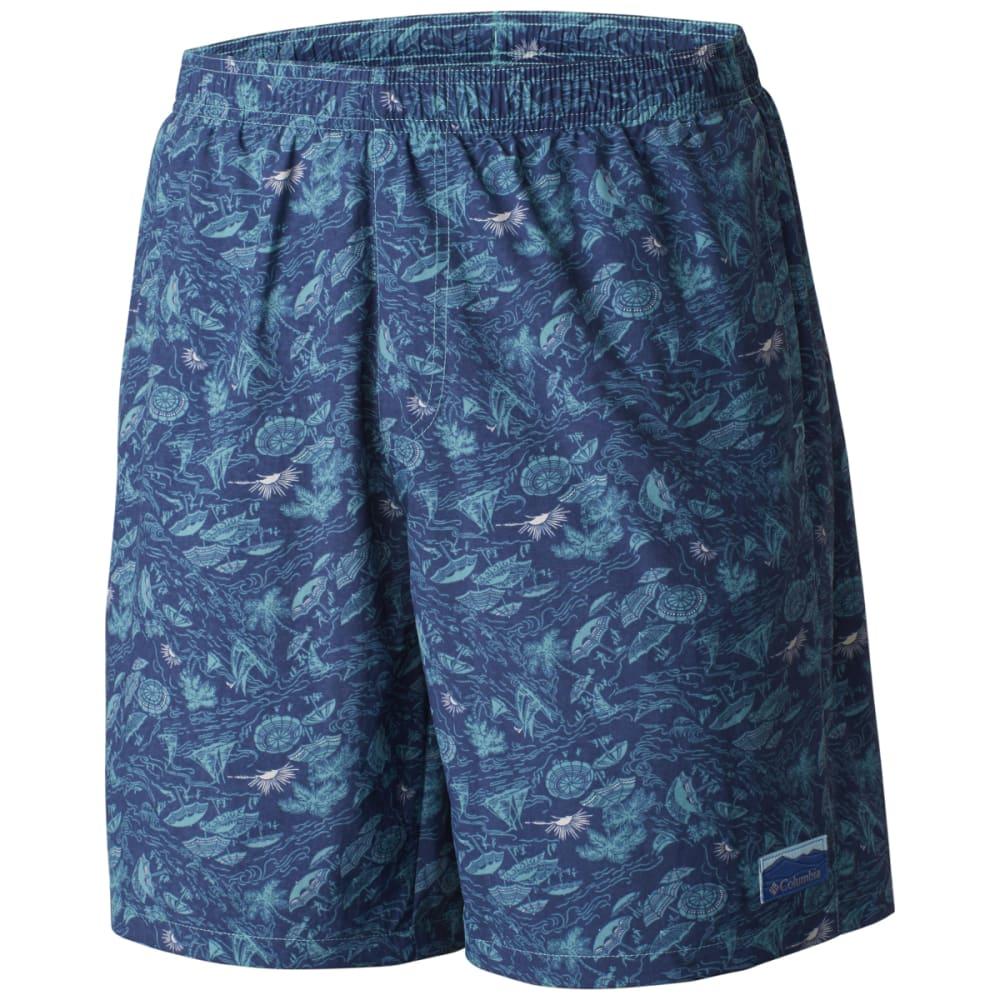 Columbia Men's Big Dippers Water Shorts - Green, M