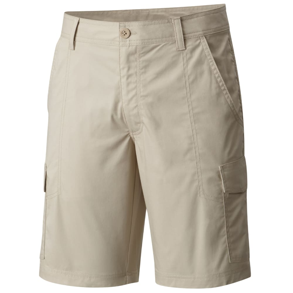 Columbia Men's Boulder Ridge Cargo Shorts - White, 36