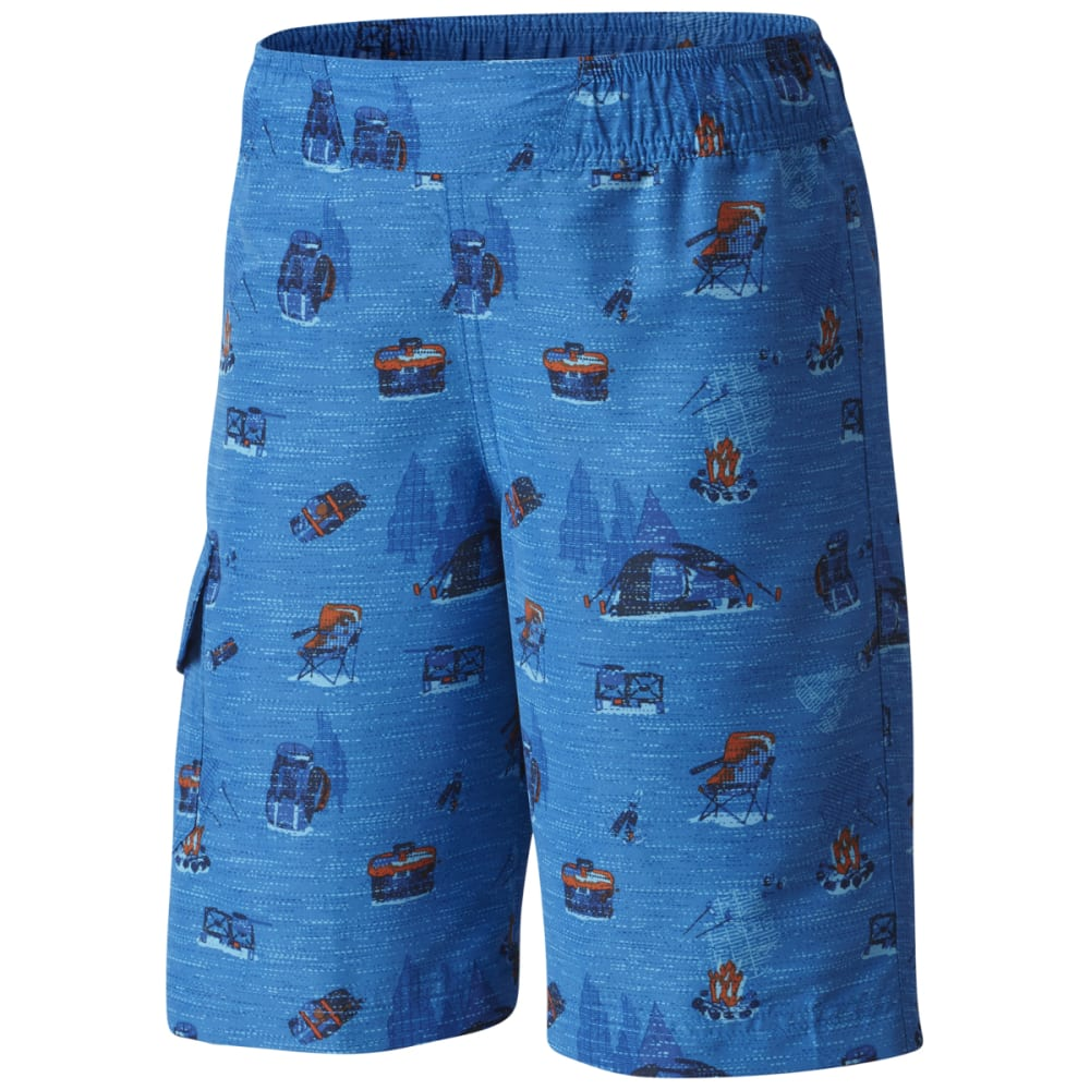 Columbia Big Boys' Solar Stream Ii Boardshorts - Blue, S