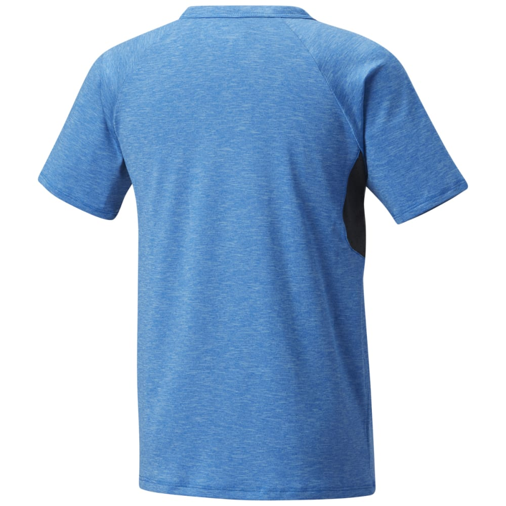 COLUMBIA Big Boys' Silver Ridge II Short-Sleeve Tee - SUPER BLUE HTR-438