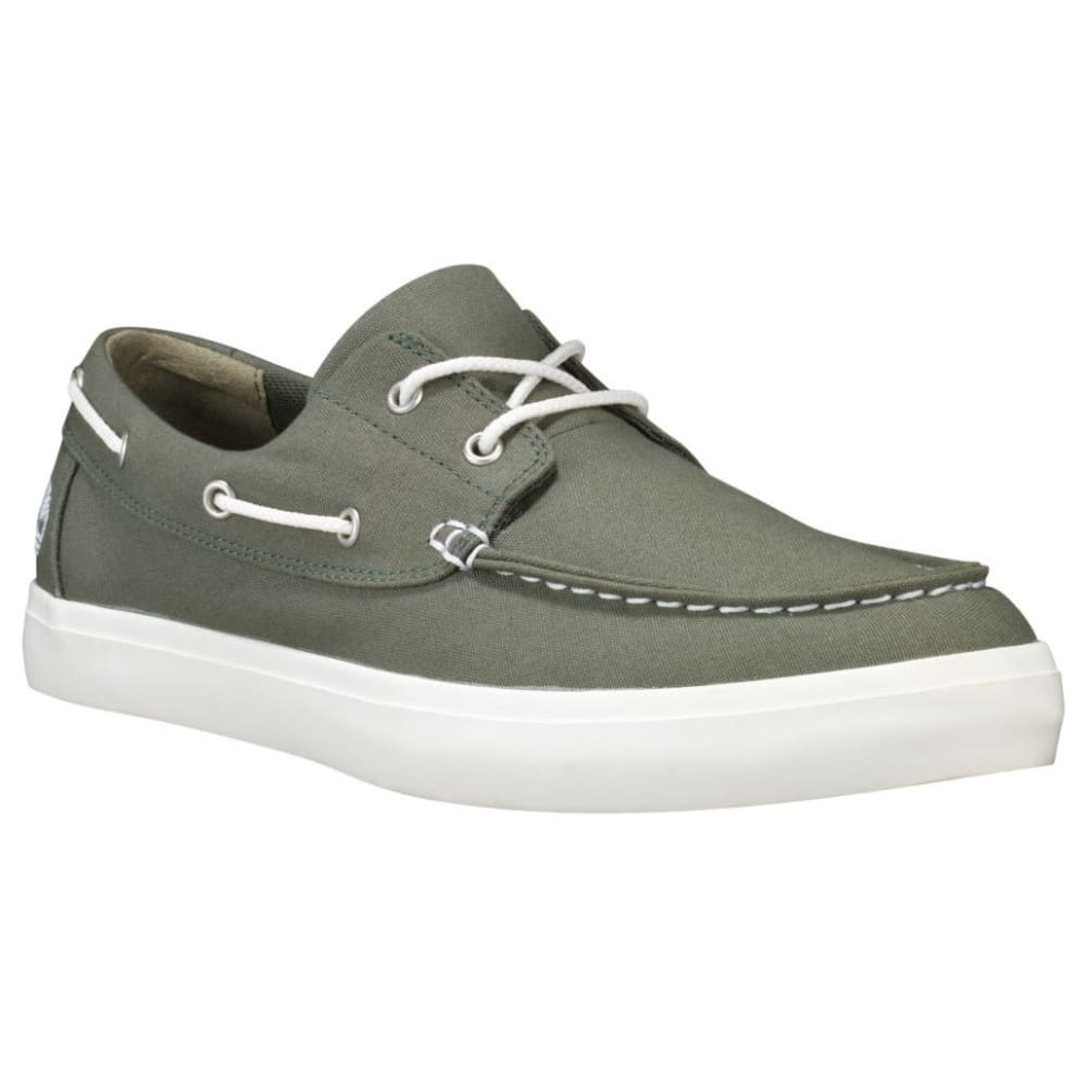 TIMBERLAND Men's Union Wharf 2-Eye Boat Shoes - DARK GREEN