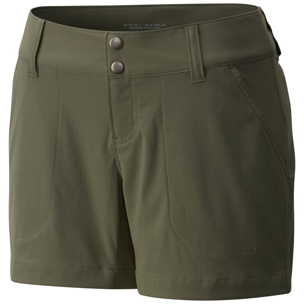 Columbia Women's Saturday Trail Shorts - Green, 6
