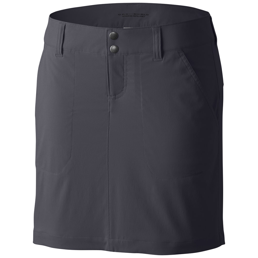 Columbia Women's Saturday Trail Skort - Black, 6