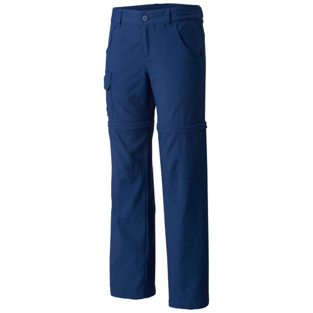 COLUMBIA Big Girls' Silver Ridge™ III Convertible Pants - 469-CARBON