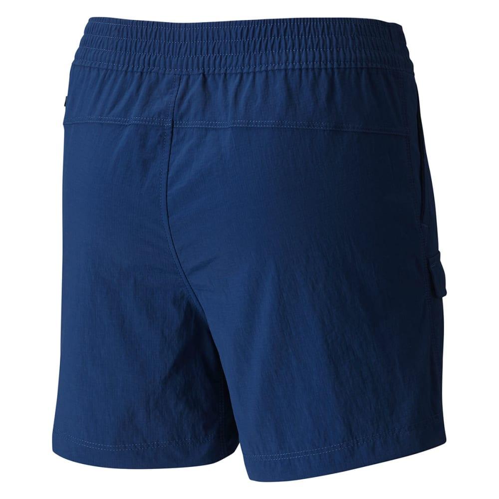 COLUMBIA Big Girls' Silver Ridge Pull-On Shorts - 469-CARBON