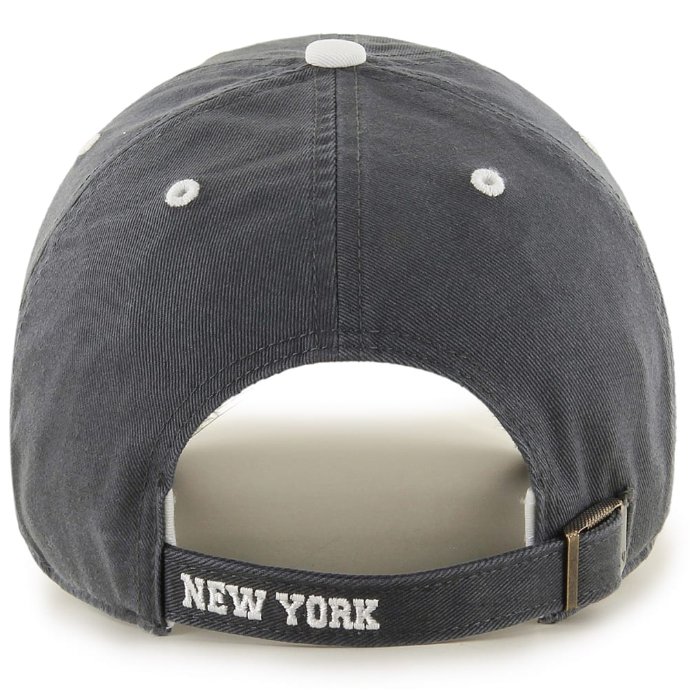 NEW YORK YANKEES Men's Ice '47 Clean Up Adjustable Cap - CHARCOAL
