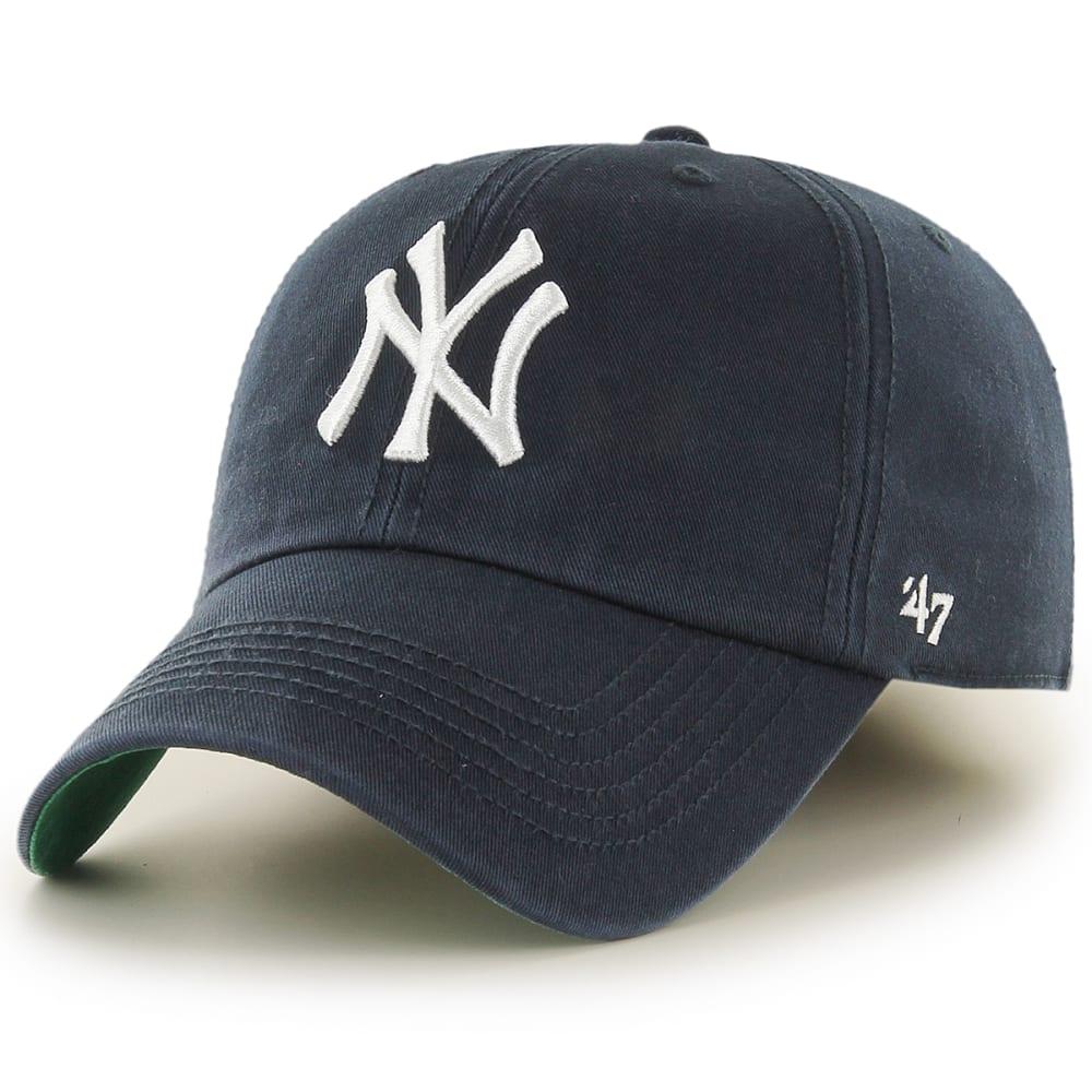 NEW YORK YANKEES Men's '47 Franchise Fitted Cap - NAVY