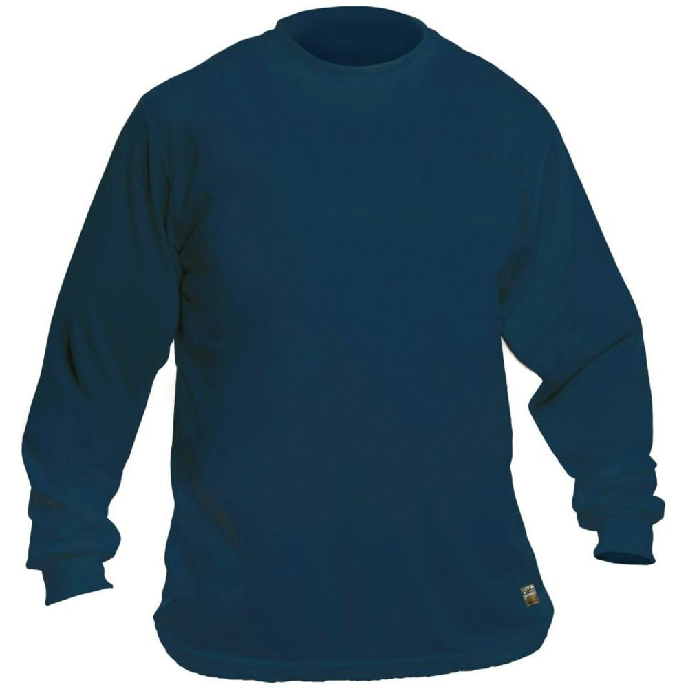 UTILITY PRO Men's Long-Sleeve Perimeter Insect Guard Tee - NAVY