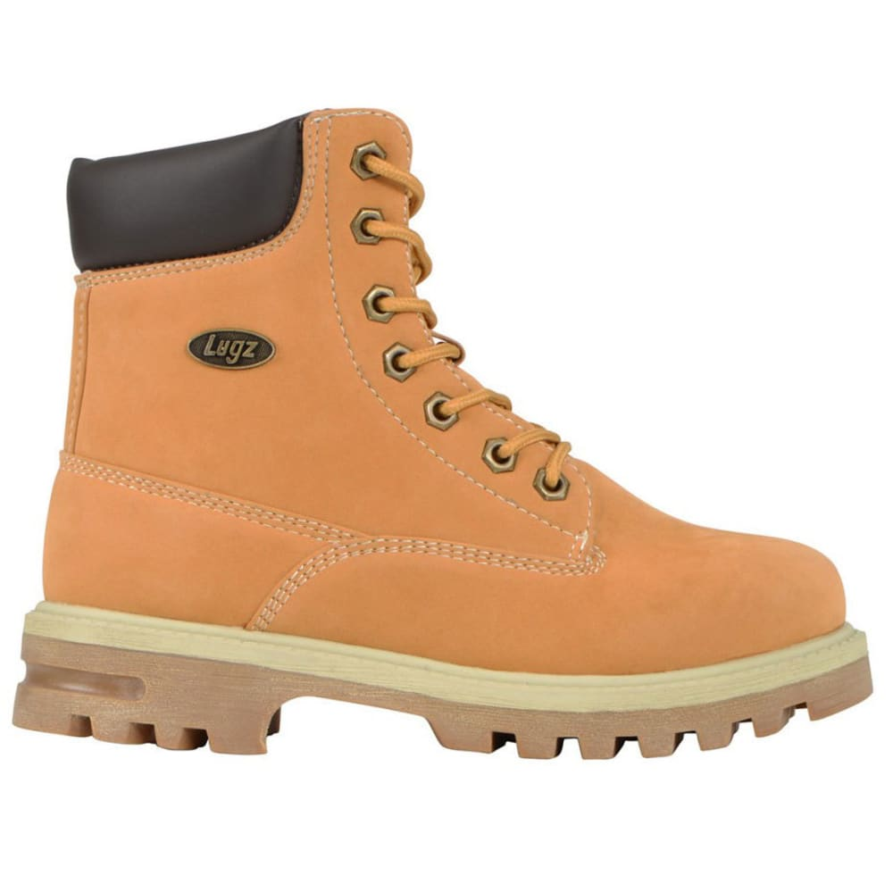 LUGZ Kids' 6 in. Empire Hi Grade School Work Boots, Golden Wheat - WHEAT