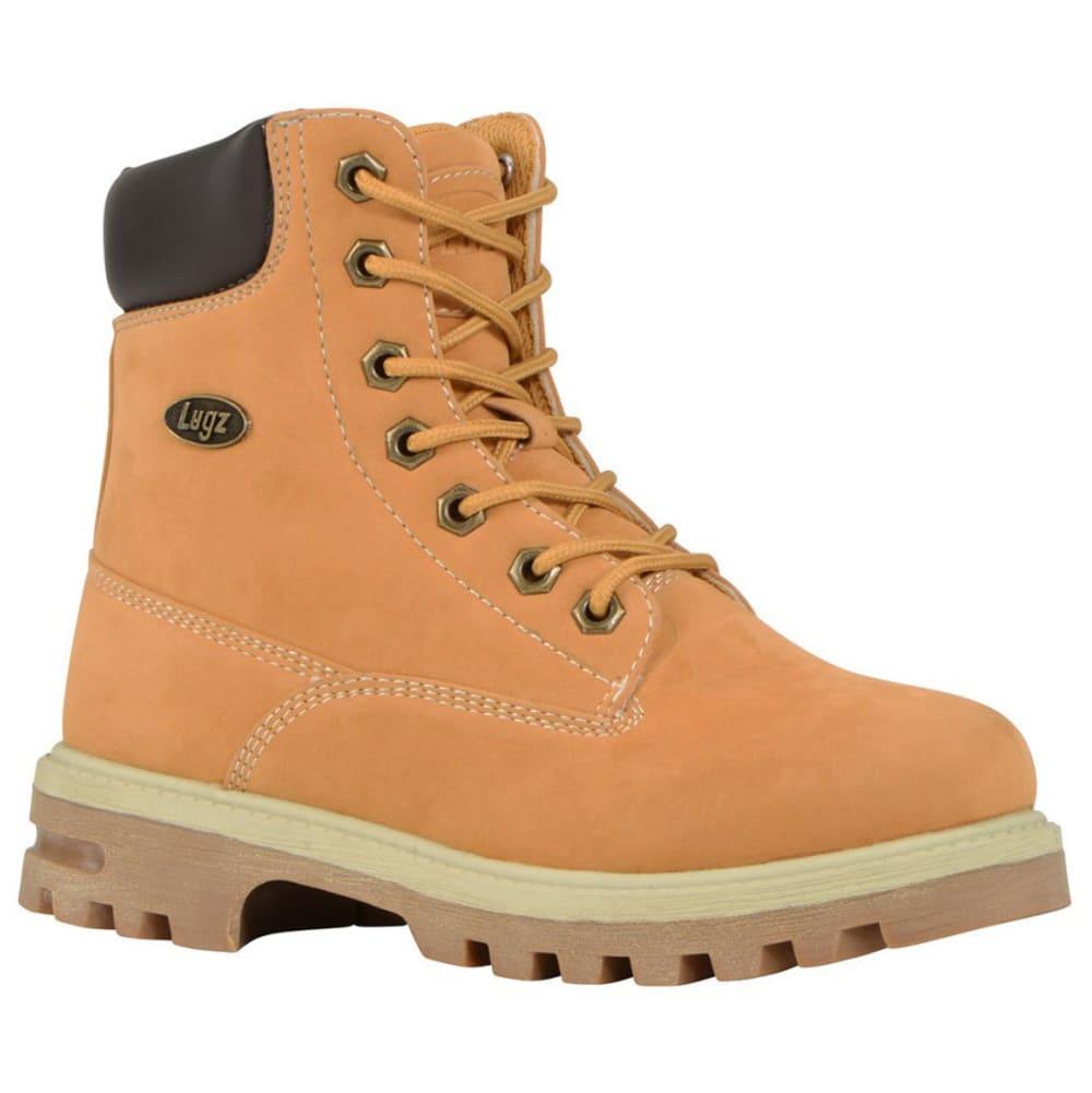 LUGZ Kids' 6 in. Empire Hi Grade School Work Boots, Golden Wheat 3.5