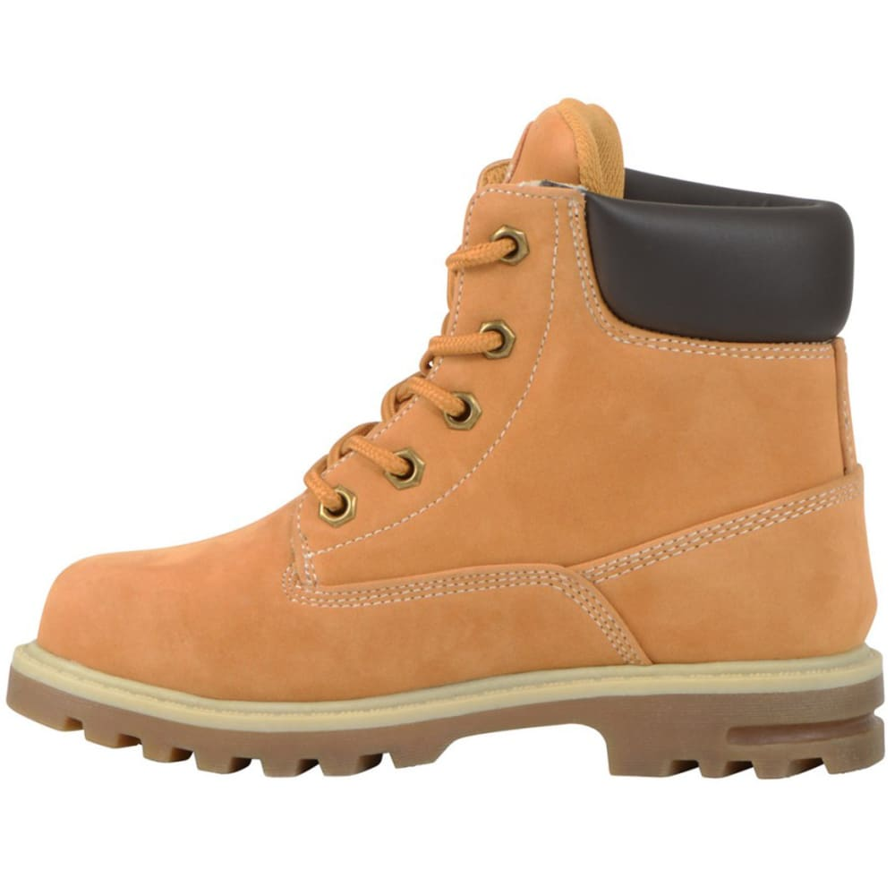 LUGZ Kids' Empire Hi Preschool Work Boots, Golden Wheat - GOLDEN WHEAT