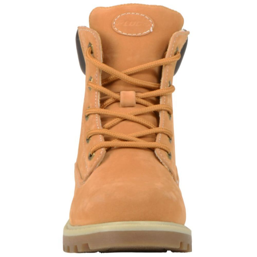 LUGZ Kids' Empire Hi Preschool Work Boots, Golden Wheat - GOLDEN WHEAT
