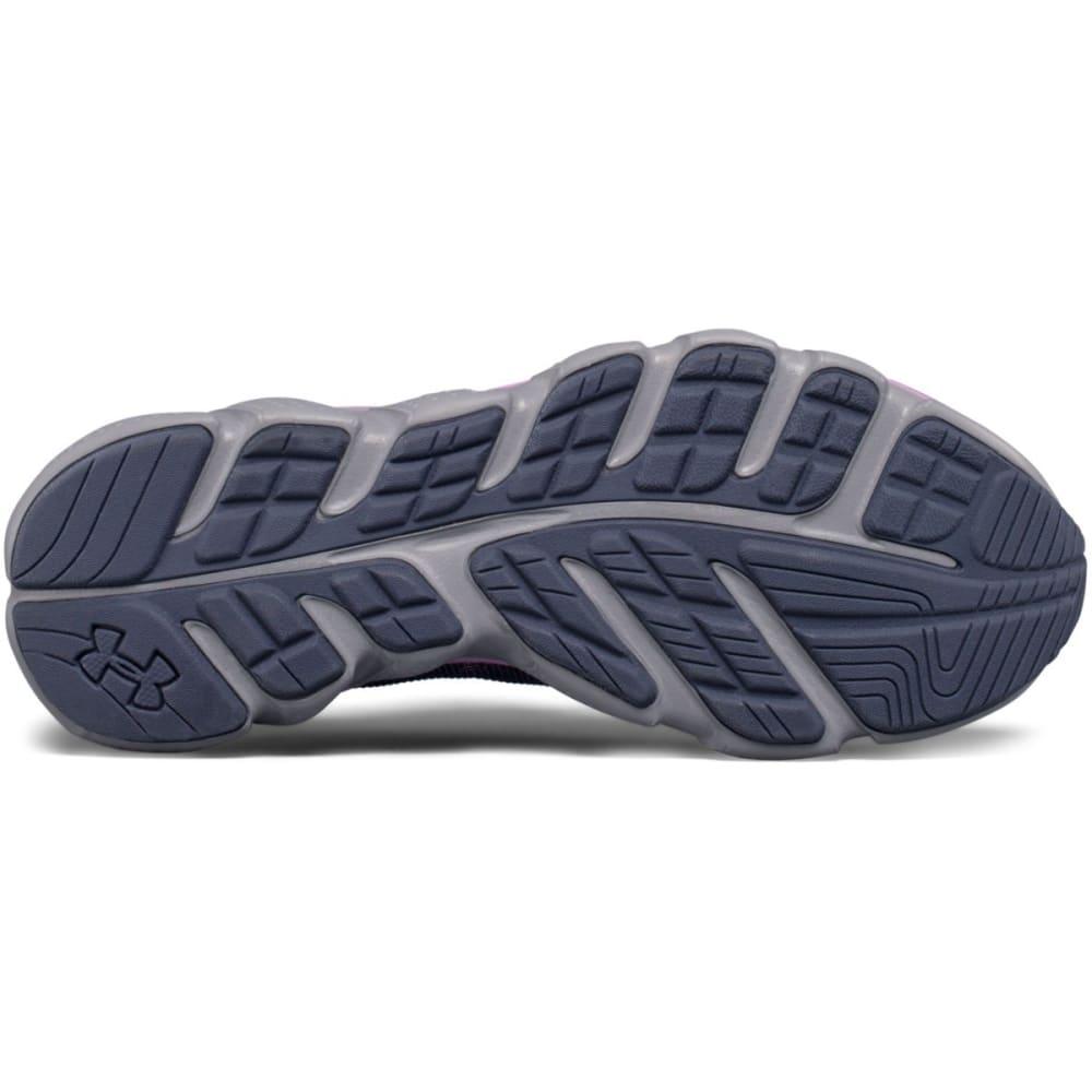 UNDER ARMOUR Women's Micro G Assert 6 Running Shoes, Gray/Icelandic Rose - GREY