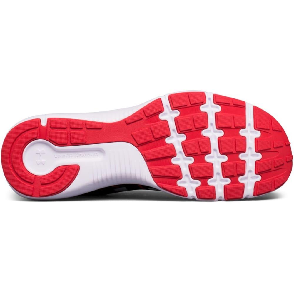 UNDER ARMOUR Men's Dash RN 2 Running Shoes, Black/Red - BLACK