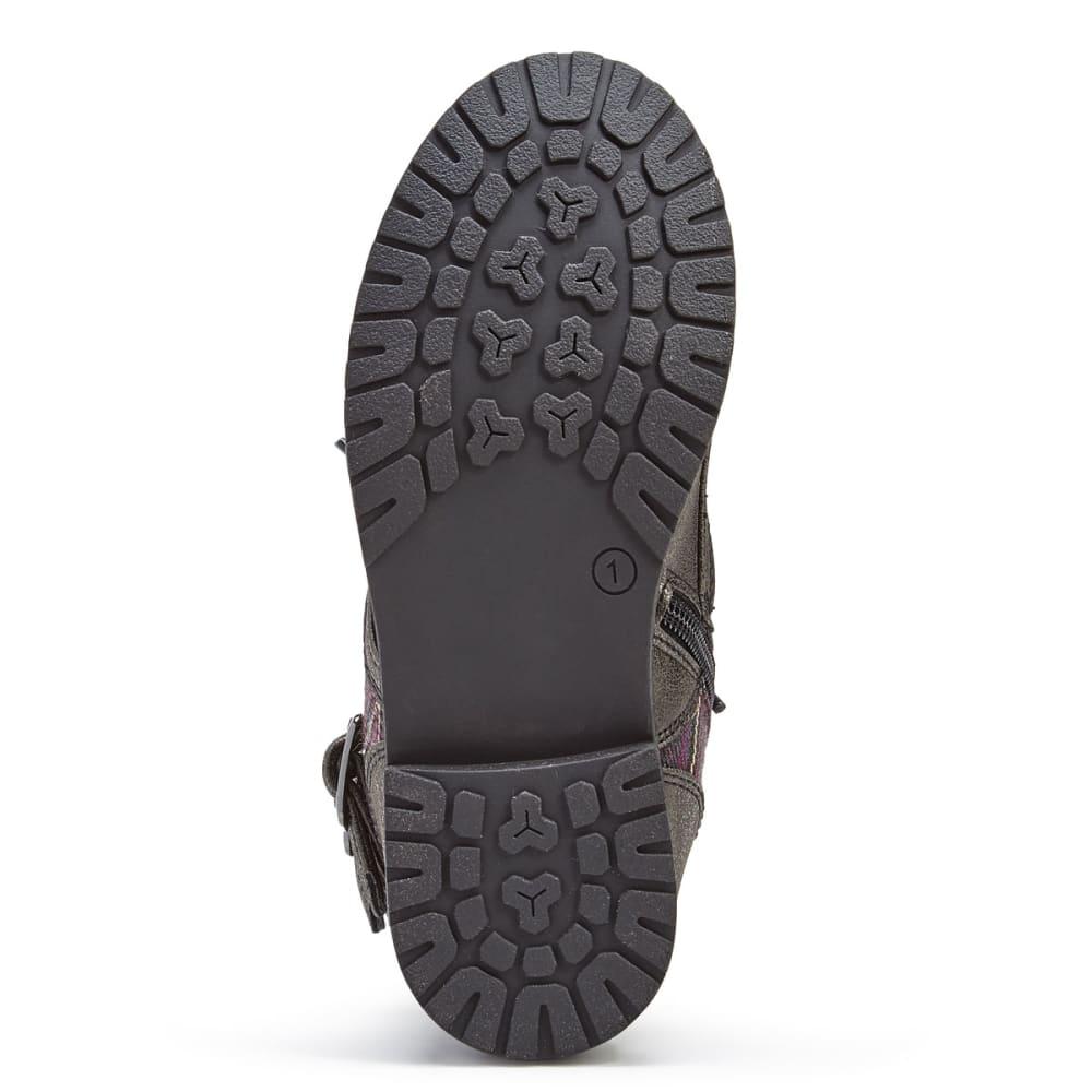 RACHEL SHOES Girls' Arlington Two-Buckle Boots, Grey - GREY