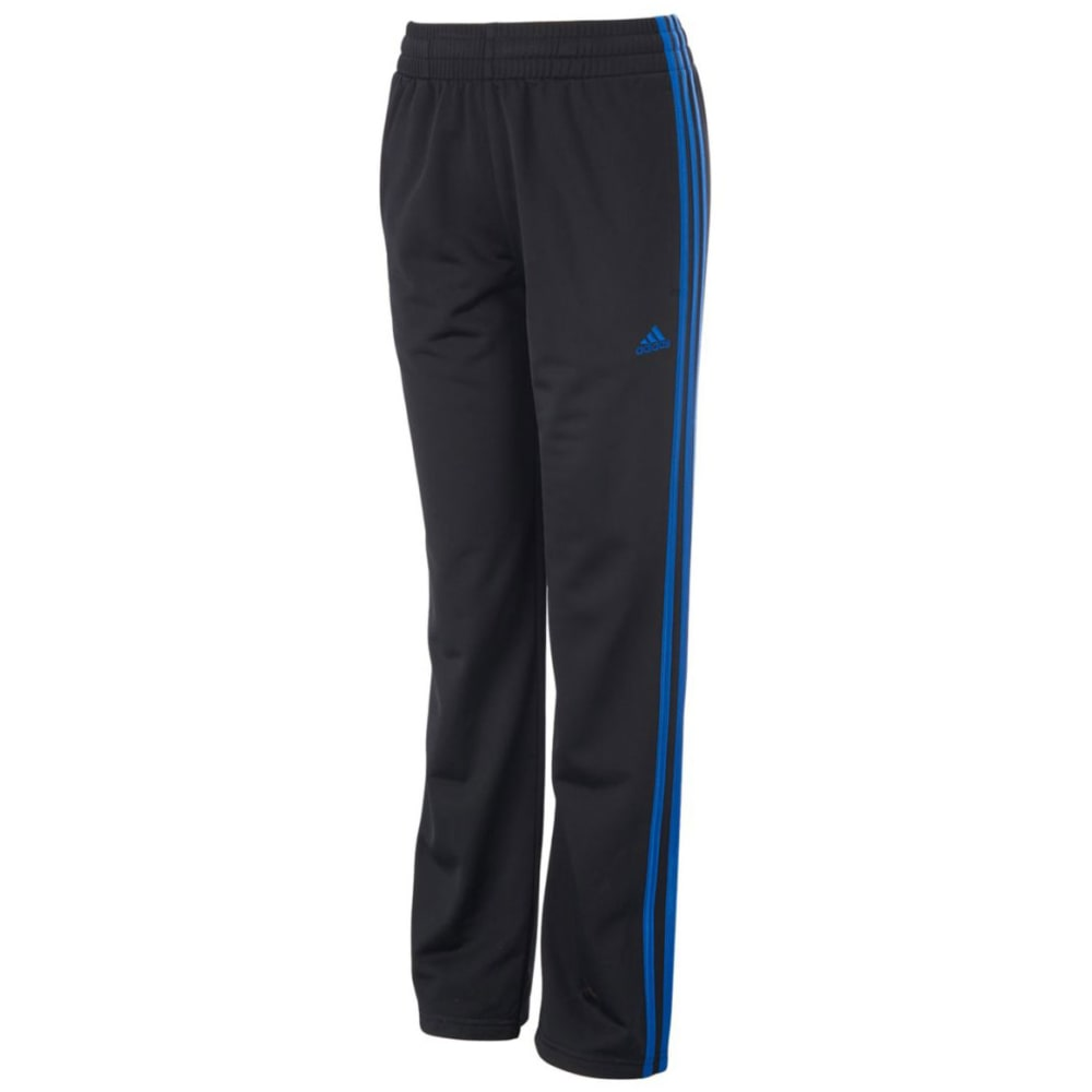 ADIDAS Boys' Impact Tricot Pants - BLACK/BLUE-K10