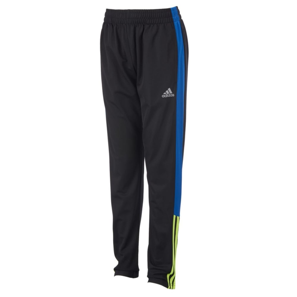 ADIDAS Boys' Striker 17 Active Pants - BLACK/SOLAR YLW-K110