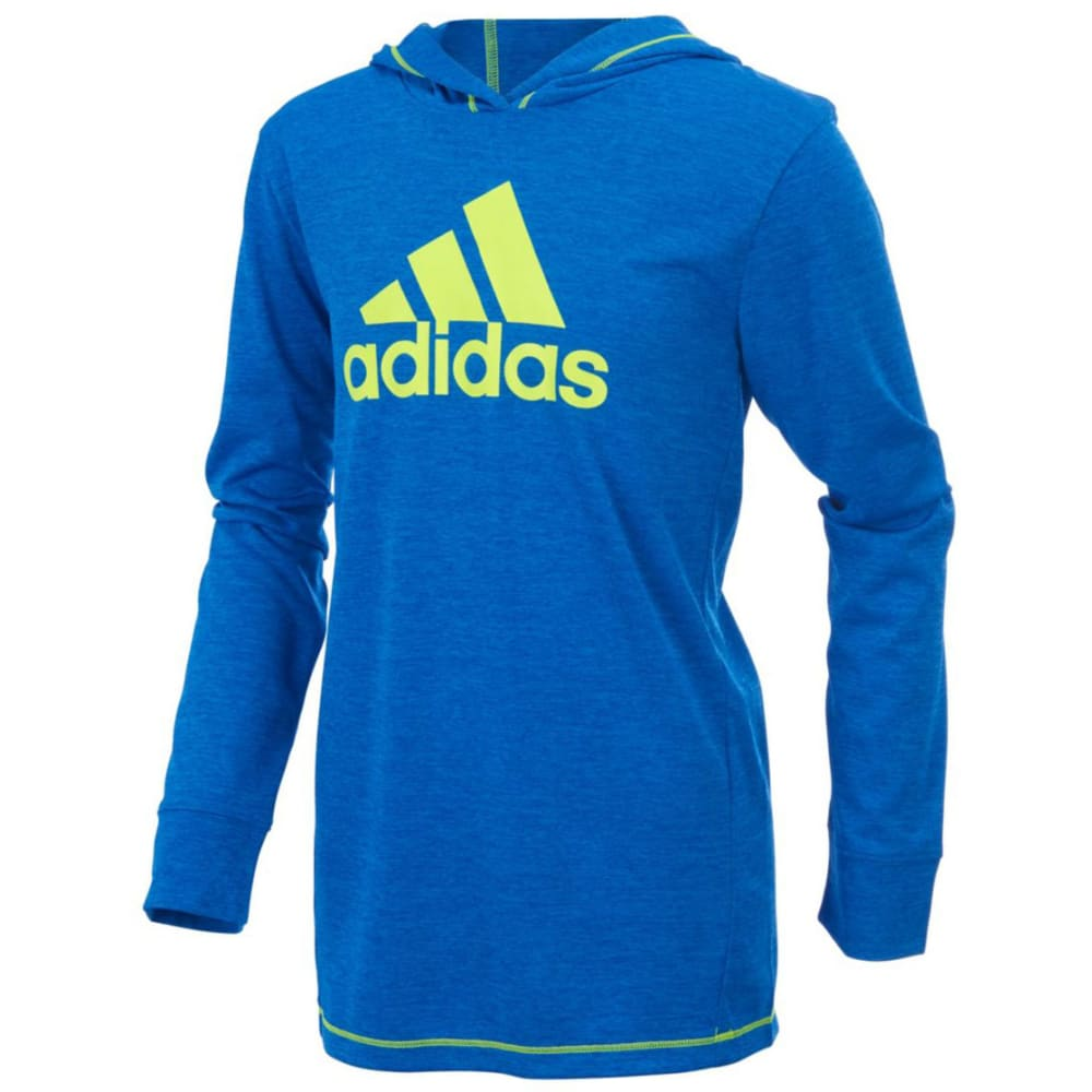 Adidas Boys Coast To Coast Pullover Sweatshirt - Blue, 5